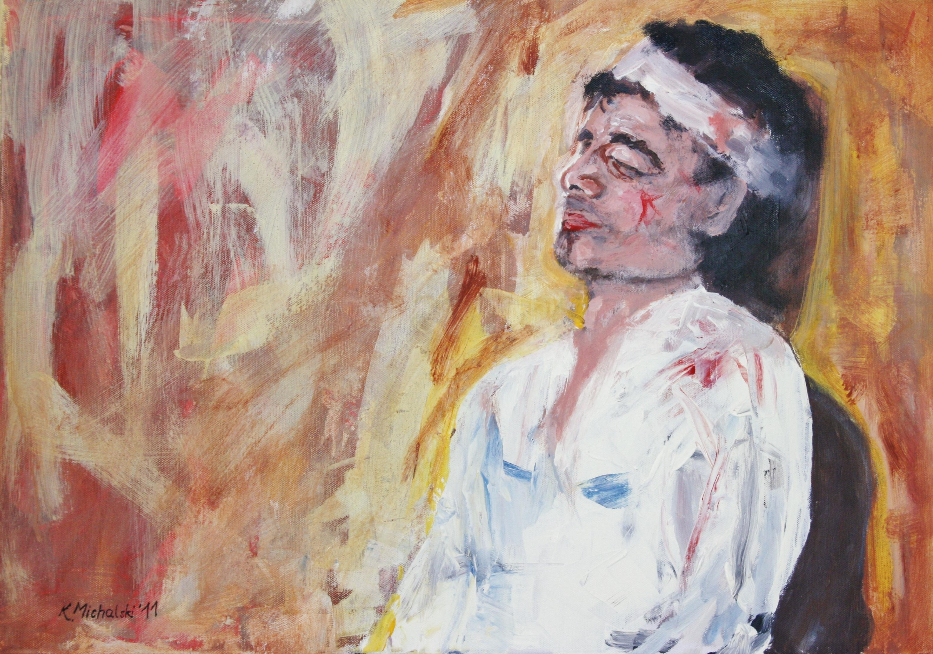 José, 2011, 50 x 70, Acryl auf Leinwand