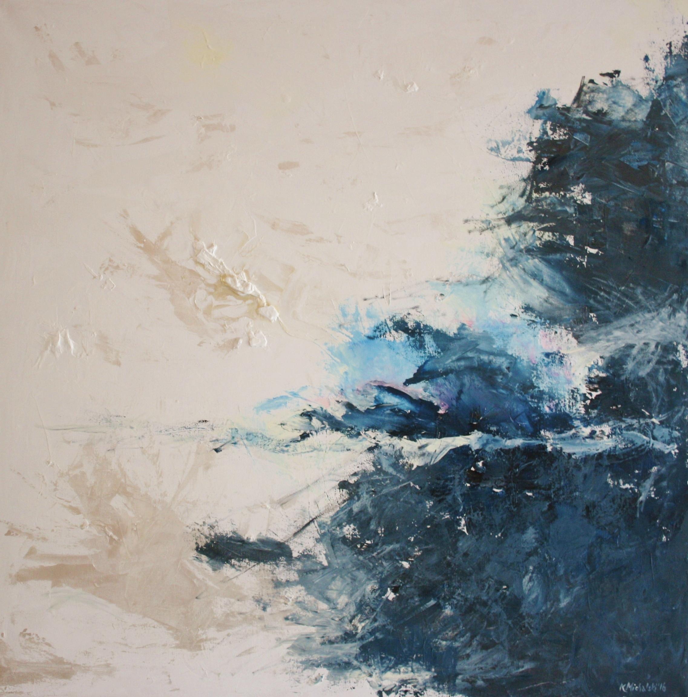 Sternennacht, 2016, 100 x 100, Acryl auf Leinwand