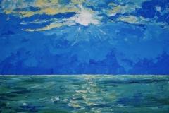 Stimmung, 2009, 100 x 100, Acyl auf Leinwand