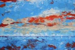 morgens, 2009, 100 x 70, Acryl auf Leinwand