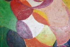 Katzentraum, 2015, 100 x 70, Acryl auf Leinwand