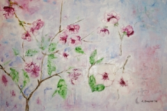 Kirschblüte, 2008, 70 x 100, Öl auf Leinwand