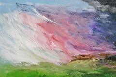 Der Sturm, 2016, 35 x 100, Acryl auf Leinwand