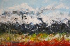 Frühling, 2016, 100 x 150, Acryl auf Leinwand