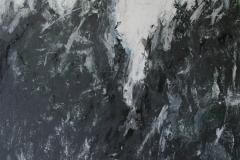 Die Spur, 2013, 100 x 100, Acryl auf Leinwand