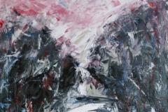 Schlucht, 2013, 80 x 60, Acryl auf Leinwand